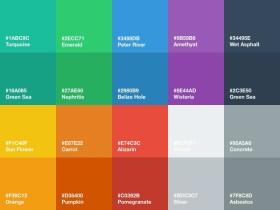 普通人的网页配色方案